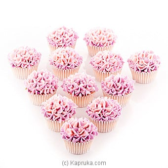 Hydrengia Vanila Cupcakes-12 Piece Pack at Kapruka Online for cakes