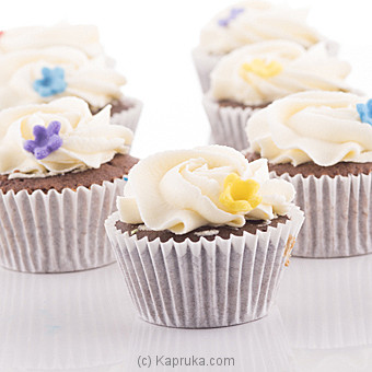 Vanila Delight Cupcakes - 12 Peice Pack at Kapruka Online for cakes