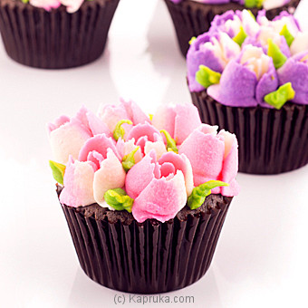 Tulips  Cupcakes - 12 Piece at Kapruka Online for cakes
