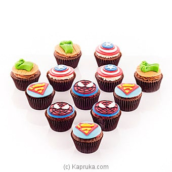 Super Hero Cupcakes at Kapruka Online for cakes