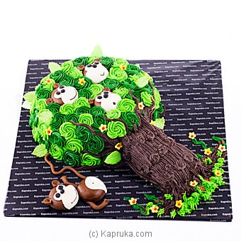 Playful Monkeys at Kapruka Online for cakes