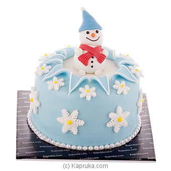 Snowman at Kapruka Online for cakes