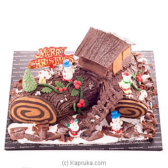Kapruka Christmas Yule Log at Kapruka Online for cakes