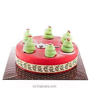 Merry Christmas Tree Cake(GMC) at Kapruka Online for cakes