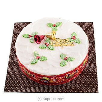 Snowy Christmas Chocolate Cake(GMC) at Kapruka Online for cakes