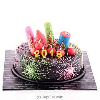 Happy 2018 at Kapruka Online for cakes