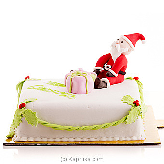 Santa Claus Is Coming To Town at Kapruka Online for cakes
