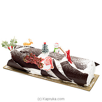 Kingsburry Buche Noel Black Forest at Kapruka Online for cakes