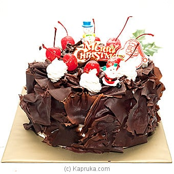 Kingsburry Christmas  Black Forest Cake at Kapruka Online for cakes
