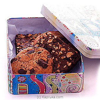 Java Assortment Of Delicious Cookies And Brownies at Kapruka Online for cakes