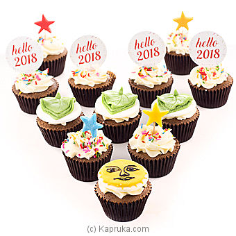 Hello 2018 Cupcakes at Kapruka Online for cakes