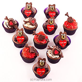 Cuddles With Love Chocolate Cupcakes at Kapruka Online for cakes