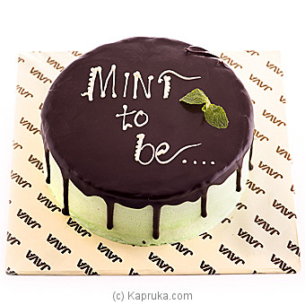 Java Meant To Be Chocolate Mint Cake at Kapruka Online for cakes