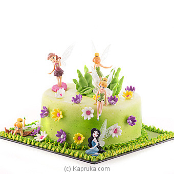 Tinkerbell Fairy Paradise BIRTHDAYCAKE at Kapruka Online