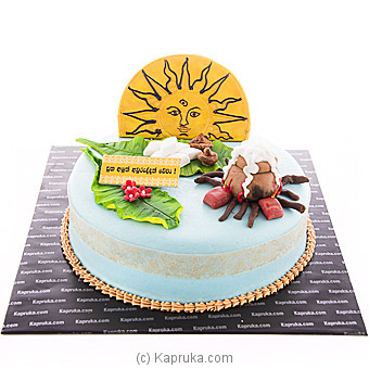 Dawn Of The New Year Ribbon Cake at Kapruka Online for cakes