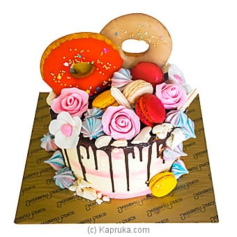 Frosted Candy Island(Shaped Cake) at Kapruka Online for cakes