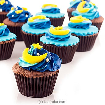 Eid Special Chocolate Cupcakes 12 Piece pack at Kapruka Online for cakes