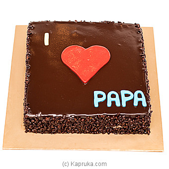 Kingsbury Father`s Day Chocolate Chip Cake at Kapruka Online for cakes