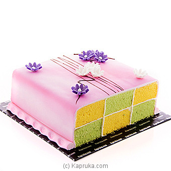 Kapruka Battenberg Delight Cake at Kapruka Online for cakes