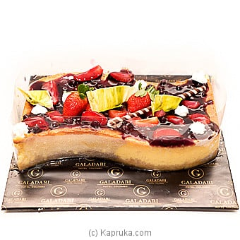 Galadari White Chocolate Baked Cheese Cake at Kapruka Online for cakes