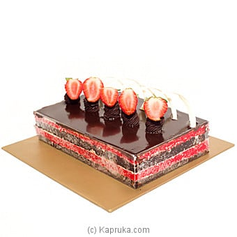 Chocolate And Red Velevt Cake at Kapruka Online