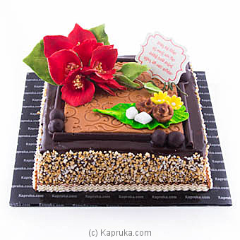 Erabadu Avurudu chocolate cake at Kapruka Online for cakes
