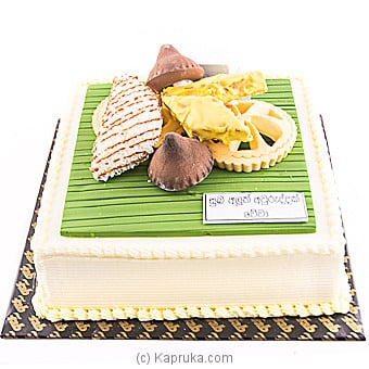 Fab New Year Ribbon Cake - 2 Lbs at Kapruka Online for cakes