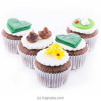 New Year Cupcakes -05 Piece at Kapruka Online for cakes