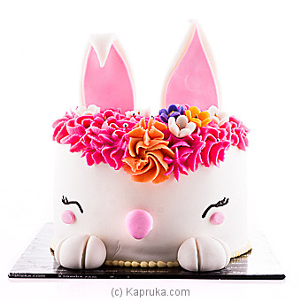 Easter Bunny Ribbon Cake at Kapruka Online