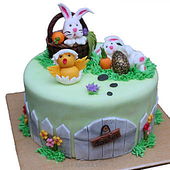 Hilton Easter Ribbon Cake at Kapruka Online for cakes
