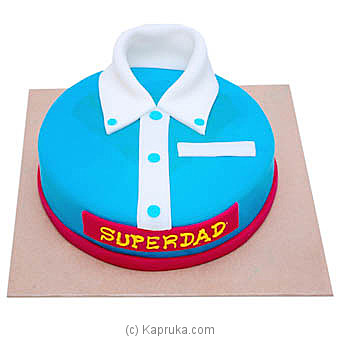 Hilton Father`s Day SuperDad Cake at Kapruka Online for cakes