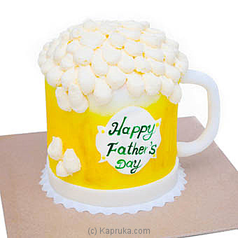 Hilton Father`s Day Beer Mug Cake at Kapruka Online for cakes