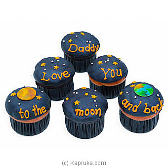 Hilton Father`s Day 6 Piece Cup Cakes at Kapruka Online for cakes