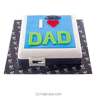 Waters Edge I Love You Dad at Kapruka Online for cakes