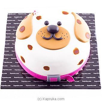 Puppy at Kapruka Online for cakes