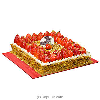 Pistachio And Strawberry Gateau at Kapruka Online for cakes