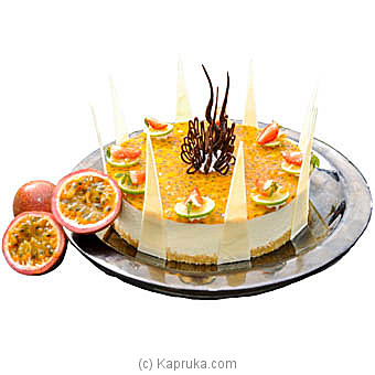 Passion Fruit Cheese Cake By Mahaweli Reach at Kapruka Online forcakes