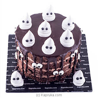 Spooky Ghosts at Kapruka Online for cakes