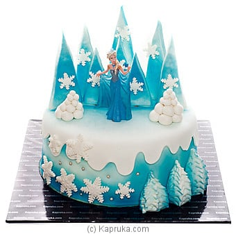 Elsa`s Kingdom at Kapruka Online for cakes
