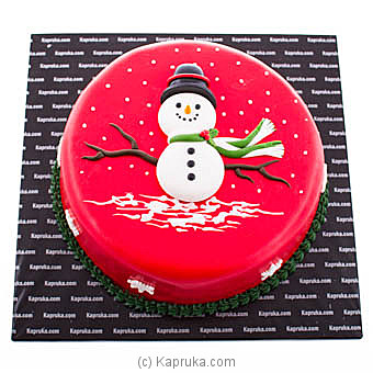 Let It Snow at Kapruka Online for cakes