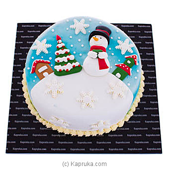 The Snow Man at Kapruka Online for cakes
