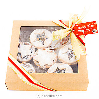 Java Mince Pie 6 Piece Gift Box at Kapruka Online for cakes