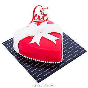 Wrapped With Love Ribbon Cakeat Kapruka Online forcakes