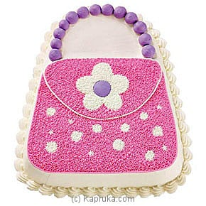 Pink Purse Cake Online at Kapruka | Product# cake00KA118
