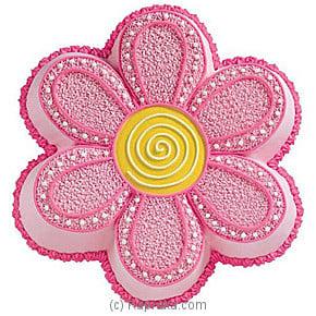 Pink Flower Cake Online at Kapruka | Product# cake00KA119