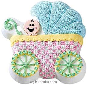 Baby Buggy Cake Online at Kapruka | Product# cake00KA00102