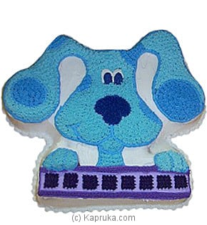Blue`s Clues Cake