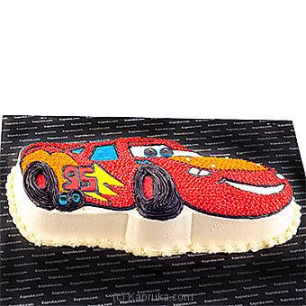 Lightning Mcqueen Cake Online at Kapruka | Product# cake00KA00107
