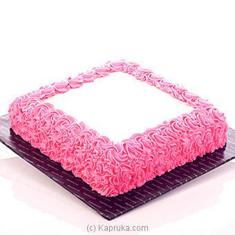 Kapruka Large Size Ribbon Cake - Kapruka Product cake00KA00142