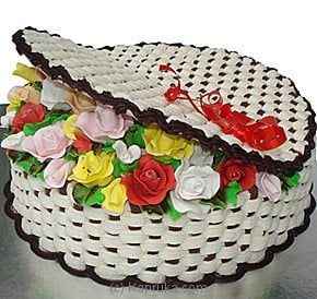 Kapruka Basket Of Roses Cake at Kapruka Online for cakes